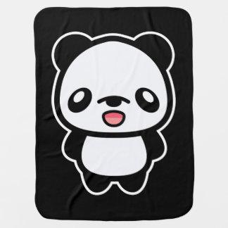 Couvertures Pour Bébé Panda heureux de Kawaii