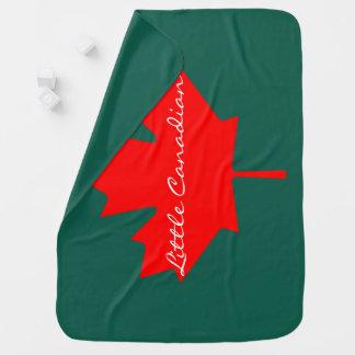 Couvertures Pour Bébé Peu de couverture canadienne de feuille d'érable