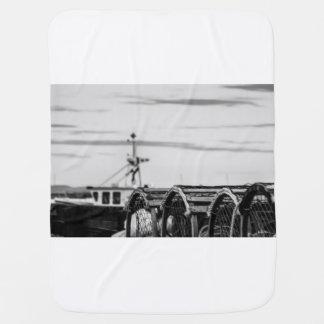 Couvertures Pour Bébé photo bateau de pêche