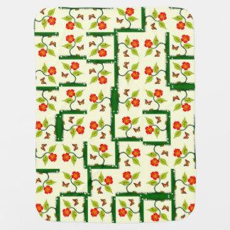 Couvertures Pour Bébé Plantes et fleurs