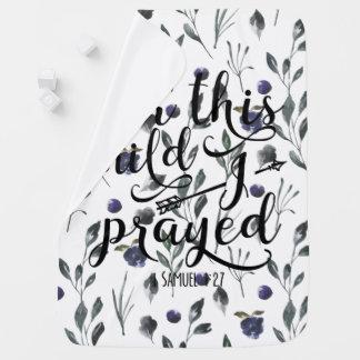 Couvertures Pour Bébé Pour cet enfant j'ai prié - le 1:2 de Samuel du