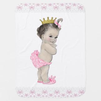 Couvertures Pour Bébé Princesse rose douce Baby