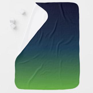 Couvertures Pour Bébé Seahawk a inspiré la couverture, le bleu et le