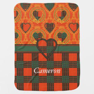 Couvertures Pour Bébé Tartan d'écossais de plaid de clan de Cameron