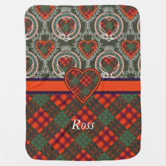 Couvertures Pour Bébé Tartan d'écossais de plaid de clan de Ross