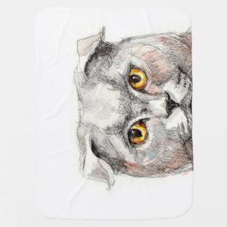 Couvertures Pour Bébé Yeux d'un chat