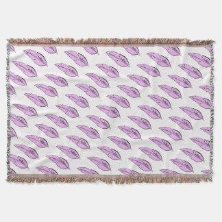 Couvertures rose de plume