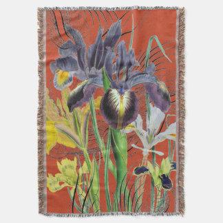 Couvertures Rouge floral 2,0 d'imaginaire d'iris