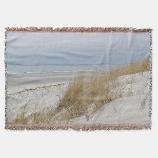 Couvertures Scène de plage d'hiver