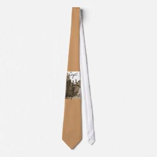 Cove Boardwalk Tie (sépia) de capitaine 002 Cravates