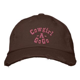 Cow-girl, - A, GoGo Casquette Brodée