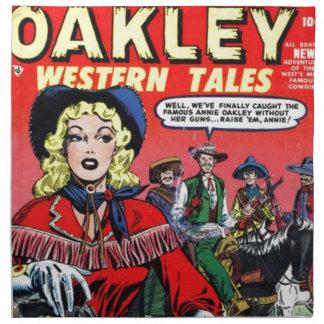 Cow-girl Annie Oakley Serviettes De Table
