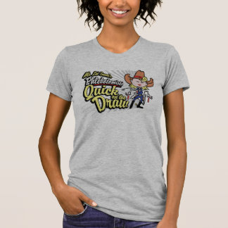 Cow-girl rapide d'aspiration t-shirt