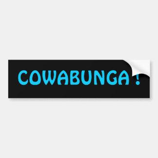 COWABUNGA ! Adhésif pour pare-chocs Autocollant Pour Voiture