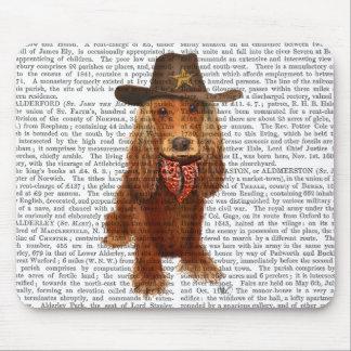 Cowboy 2 de cocker tapis de souris