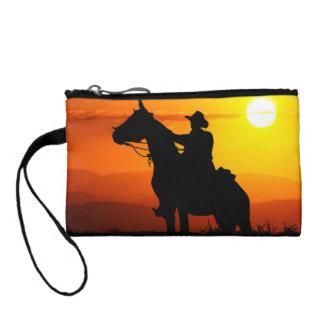 Cowboy-Cowboy-soleil-occidental-pays de coucher du Bourse