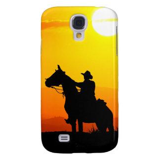 Cowboy-Cowboy-soleil-occidental-pays de coucher du Coque Galaxy S4