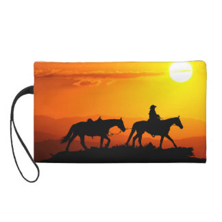 Cowboy-Cowboy-Texas-occidental-pays occidental Pochettes Avec Dragonne