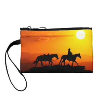 Cowboy-Cowboy-Texas-occidental-pays occidental Porte-monnaie