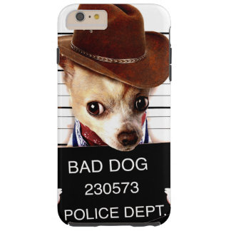 cowboy de chiwawa - chien de shérif coque iPhone 6 plus tough