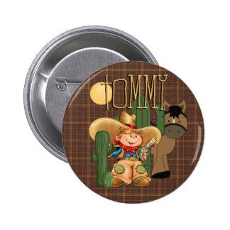 Cowboy de désert pin's