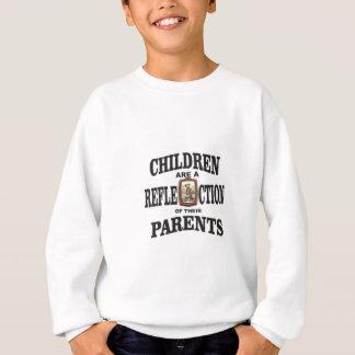 cowboy de réflexion de parent sweatshirt