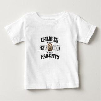 cowboy de réflexion de parent t-shirt pour bébé