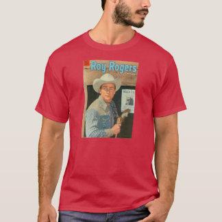"""Cowboy de Roy Rogers de T-shirt """"voulu"""" 1955"""