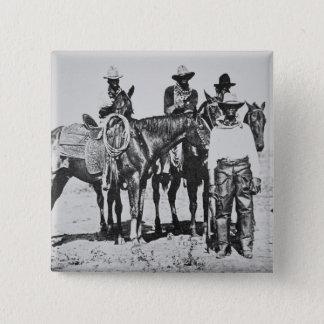 Cowboys noirs chez Bonham, le Texas, c.1890 (photo Pin's