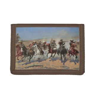 Cowboys vintages, un tiret pour le bois de