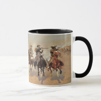 Cowboys vintages, un tiret pour le bois de mug