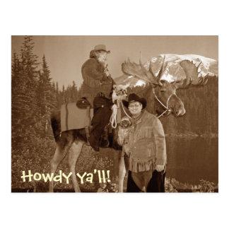 cowboyus, allo vous ! carte postale