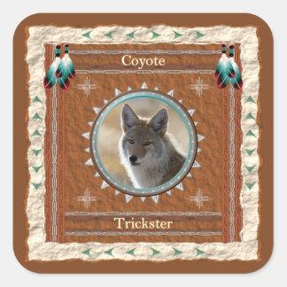 Coyote - autocollants de Filou - 20 par feuille