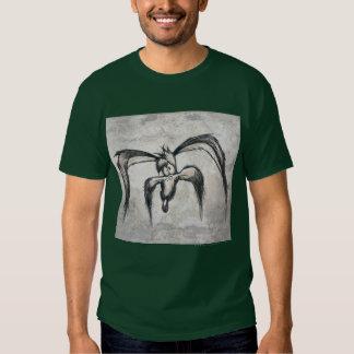 Coyote du Wile E vers le bas sur sa chance T-shirt