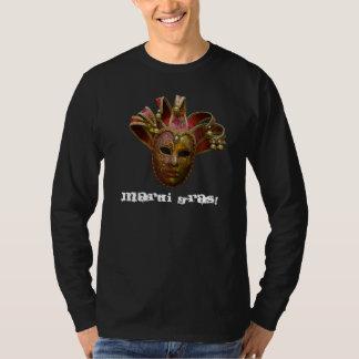 Cr rouge de masque, mardi gras ! t-shirt