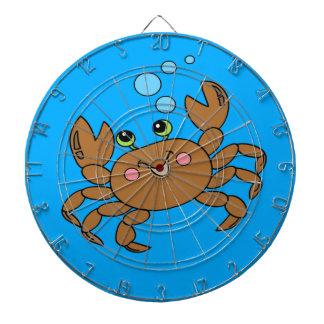 Crabe 3 jeu de fléchettes