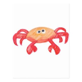 crabe carte postale