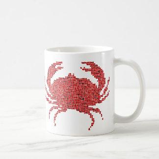 Crabe de mosaïque mug