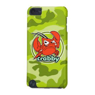 Crabe drôle camo vert clair camouflage