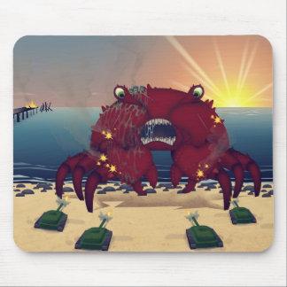 Crabe géant de mutant tapis de souris