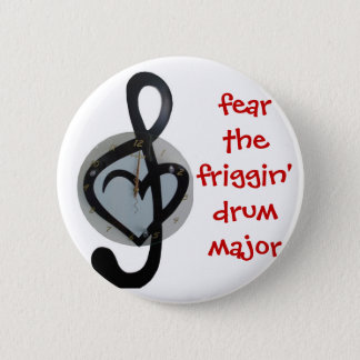 craignez le commandant de tambour pin's