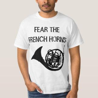 Craignez les cors de harmonie t-shirt