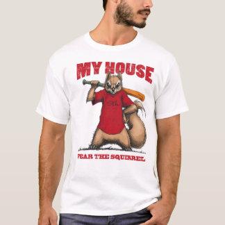 Crainte de T-shirt d'écureuil de rassemblement