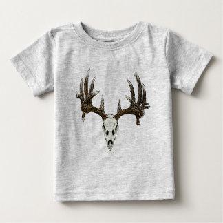 Crâne 1 de cerf de Virginie T-shirt Pour Bébé
