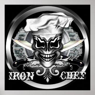 Crâne 1 de chef poster