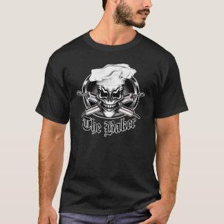 Crâne 1 de chef t-shirt