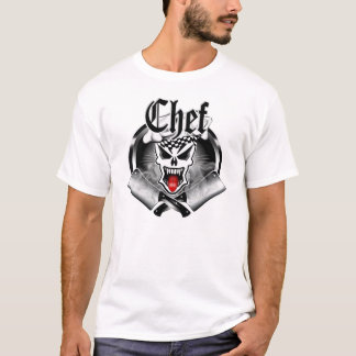 Crâne 2,1 de chef t-shirt