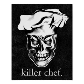 Crâne 3,1 de chef poster