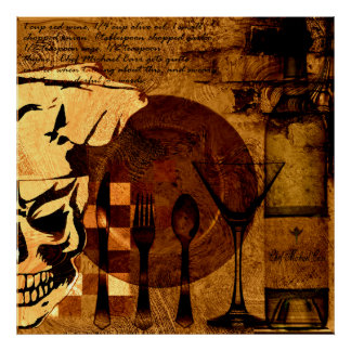 Crâne 3 de chef poster