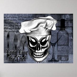 Crâne 4 de chef poster
